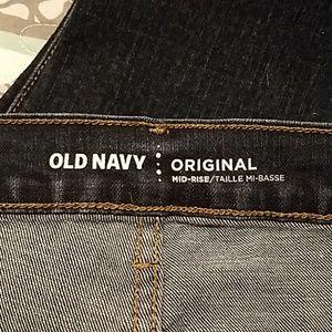 Old Navy Jeans size 18 skinny dark wash